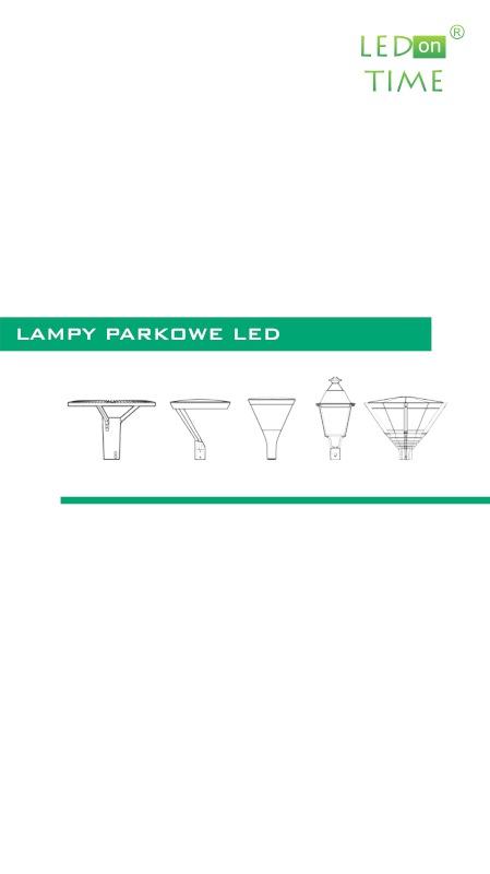 Katalog Lampy Parkowe LED